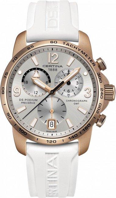 Certina DS Podium Chronograph GMT Aluminium