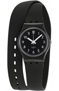 Swatch LADY BLACK
