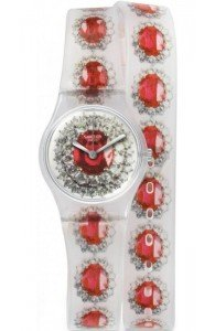 Swatch RUBY SILVER