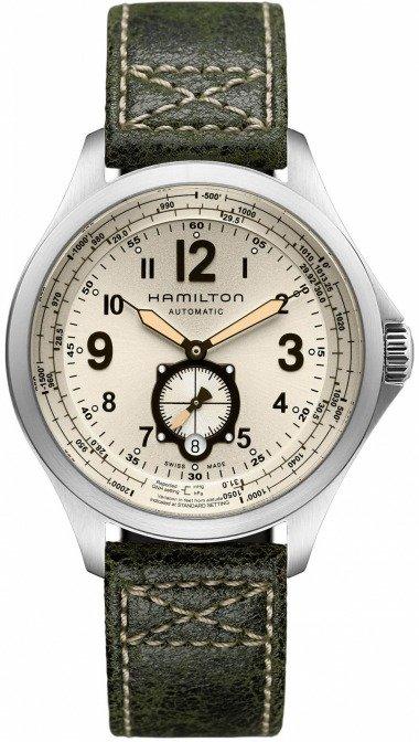 Hamilton Khaki Aviation QNE
