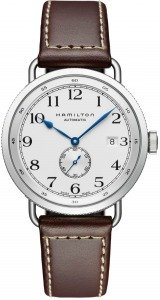 Hamilton Hamilton Khaki Navy PIONEER SMALL SECOND