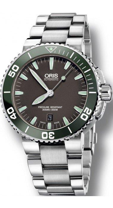 Часы Oris Aquis из коллекции DIVING, материал  Сталь, наличие ... 9cc1bdbf450