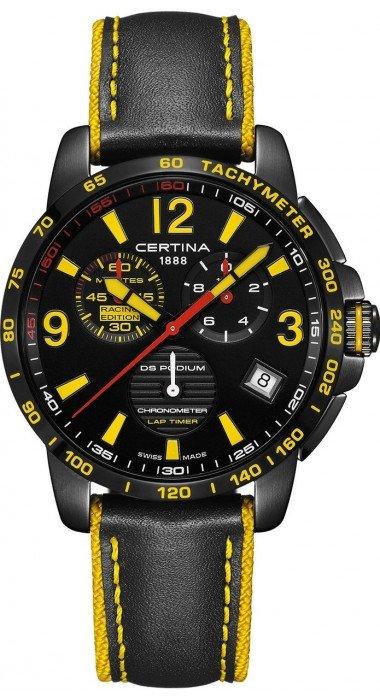 Certina DS Podium Chronograph Lap Timer
