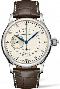 Longines Heritage Avigation Twenty-Four Hours Single Push-Piece Chronograph
