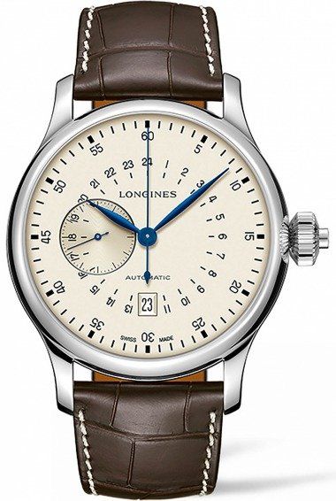 Longines Heritage Avigation Twenty-Four Hours Single Push-Piece Chronograph