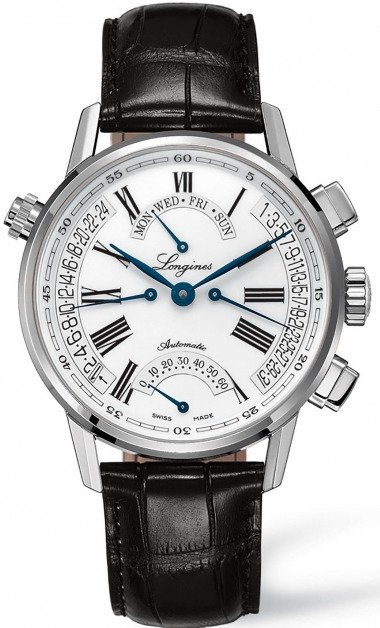 Longines Heritage Retrograde Men's Watch