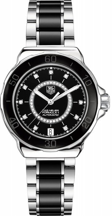 TAG HEUER Formula 1 Lady Steel and Ceramic