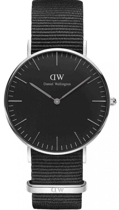 Daniel Wellington Classic Black Cornwall