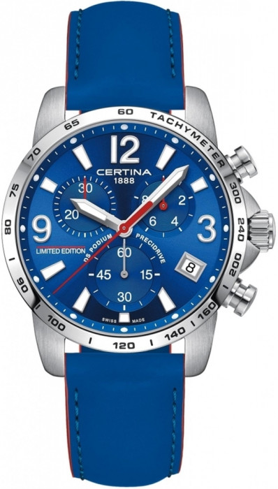 Certina DS Podium Chronograph 1/10 sec Wilvo Yamaha Official MXGP