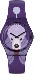 SWATCH PURPLE POODLE