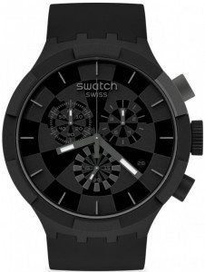 SWATCH CHECKPOINT BLACK