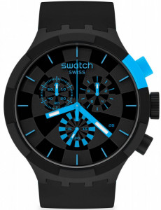 SWATCH CHECKPOINT BLUE