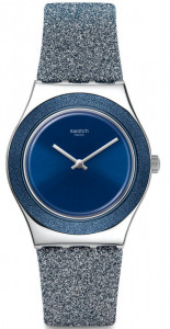 SWATCH BLUE SPARKLE