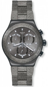 SWATCH IRONY BLACKSHINY
