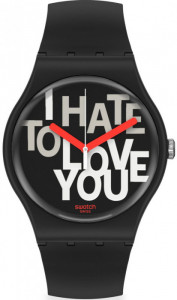 SWATCH HATE 2 LOVE