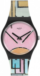 SWATCH COMPOSITION IN OVAL WITH COLOR PLANES 1