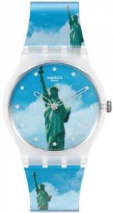 SWATCH NEW YORK BY TADANORI YOKOO, THE WATCH