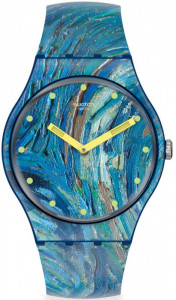 SWATCH THE STARRY NIGHT BY VINCENT VAN GOGH