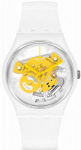SWATCH TIME TO YELLOW SMALL