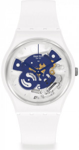 SWATCH TIME TO BLUE SMALL
