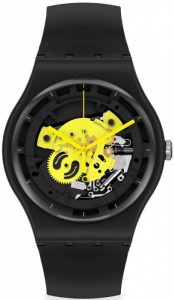SWATCH TIME TO YELLOW BIG