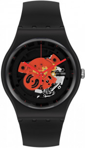 SWATCH TIME TO RED BIG