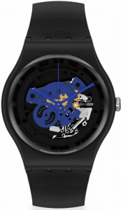 SWATCH TIME TO BLUE BIG