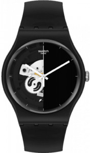 SWATCH LIVE TIME BLACK