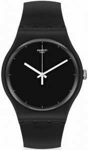 SWATCH THINK TIME BLACK