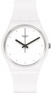 SWATCH THINK TIME WHITE