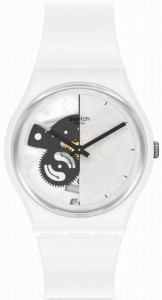 SWATCH LIVE TIME WHITE