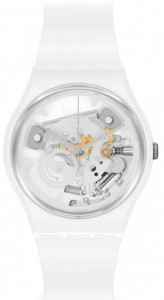 SWATCH SPOT TIME WHITE