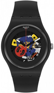 SWATCH BLACK LACQUERED AGAIN