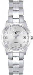 TISSOT PR 100 QUARTZ LADY STEEL