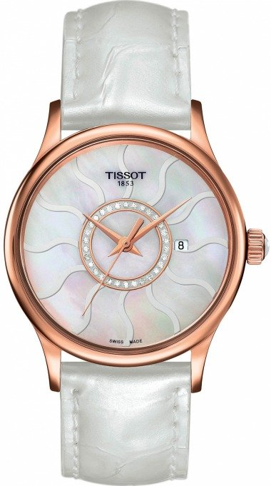 TISSOT ROSE DREAM LADY GOLD