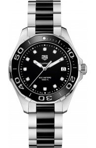 TAG HEUER Aquaracer Steel & Ceramic Diamond