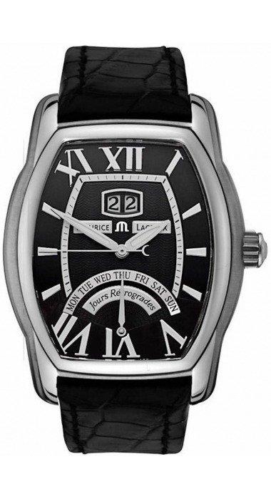 d596915e Часы Maurice Lacroix Masterpiece Jours Retrograde Tonneau из ...