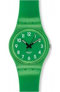 Swatch FLAKY GREEN