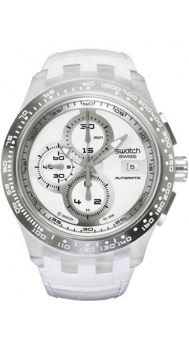 Swatch RIGHT TRACK WHITE