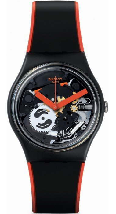 Swatch RED FRAME