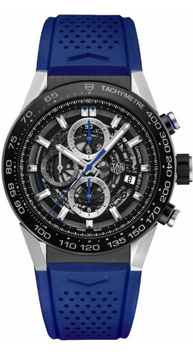 TAG HEUER Carrera Calibre Heuer 01 Automatic Chronograph Blue Touch Edition