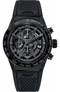TAG HEUER Carrera Calibre Heuer 01 Automatic Chronograph Black Ceramic