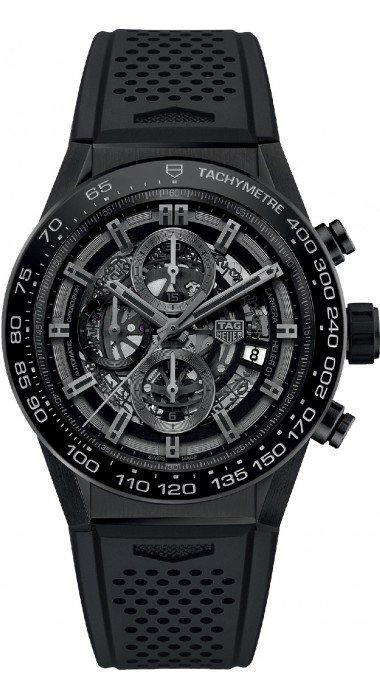 TAG HEUER Carrera Calibre Heuer 01 Automatic Chronograph Black Ceramic